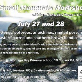 Small Mammals Workshop